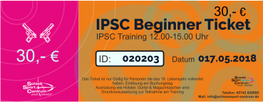 IPSC Sicherheits & Regeltest